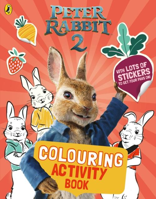 Popular Titles - Peter Rabbit Movie 2 Colouring Sticker Activity