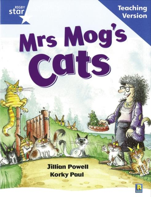 Popular Titles - Rigby Star Guided Reading Blue Level: Mrs Mog's Cat Teaching Version