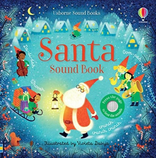 Santa Sound Book Popular Titles Usborne Publishing Ltd