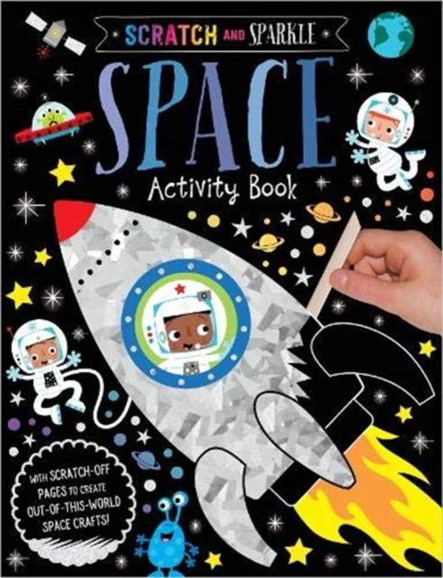 Popular Titles - Scratch And Sparkle Space Activity Book