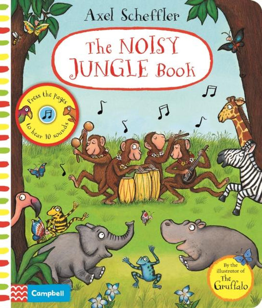 Popular Titles - The Noisy Jungle Book : A Press-the-page Sound Book