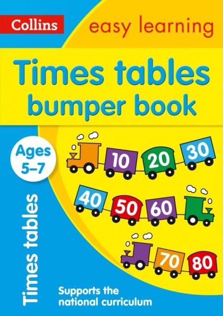 Popular Titles - Times Tables Bumper Book Ages 5-7 : Ideal For Home Learning