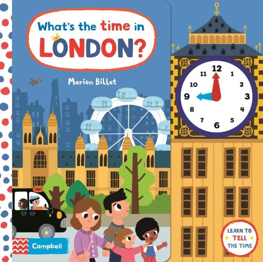 Popular Titles - What's The Time In London? : A Tell-the-time Clock Book