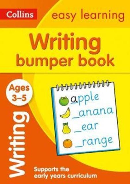 Popular Titles - Writing Bumper Book Ages 3-5 : Prepare For Preschool With Easy Home Learning