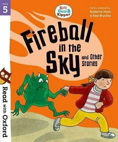 Read with Oxford: Biff, Chip and Kipper 4 Book Collection (Stage 5) - Paperback - Roderick Hunt & Alex Brychta - Books2Door