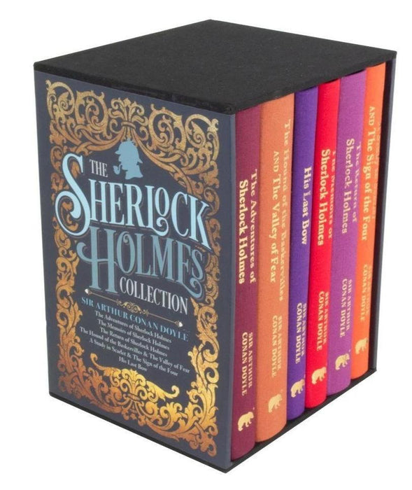 Sherlock Holmes Deluxe Hardback Collection 6 Books Box Set - Mystery - Hardback - Sir Arthur Conan Doyle - Books2Door