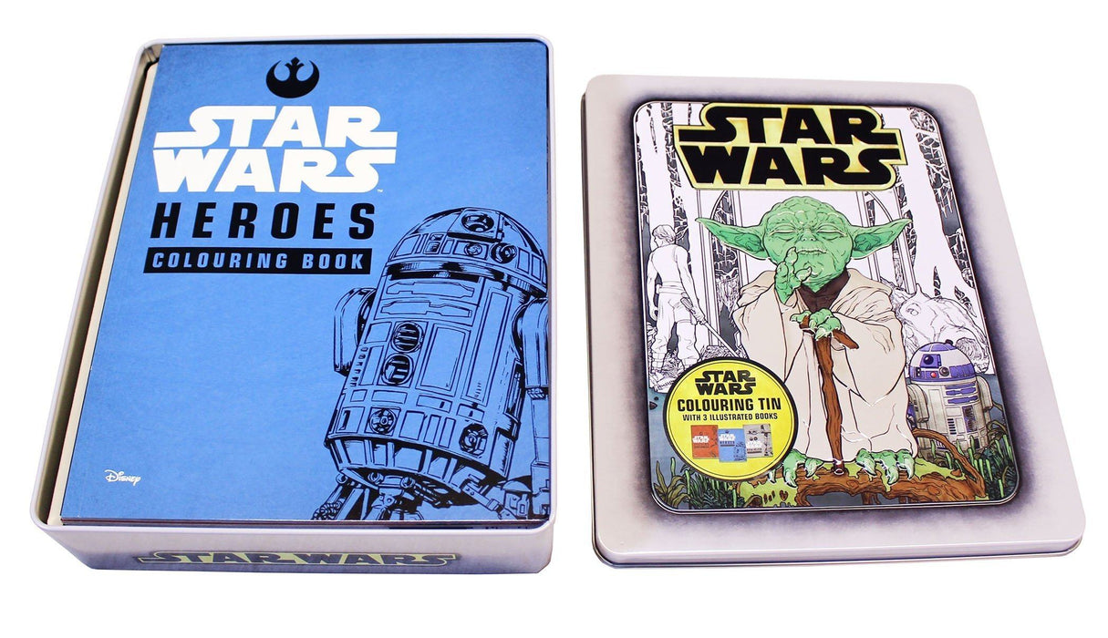 Star Wars 3 Colouring Books in a Tin - Paperback - Egmont - Books2Door