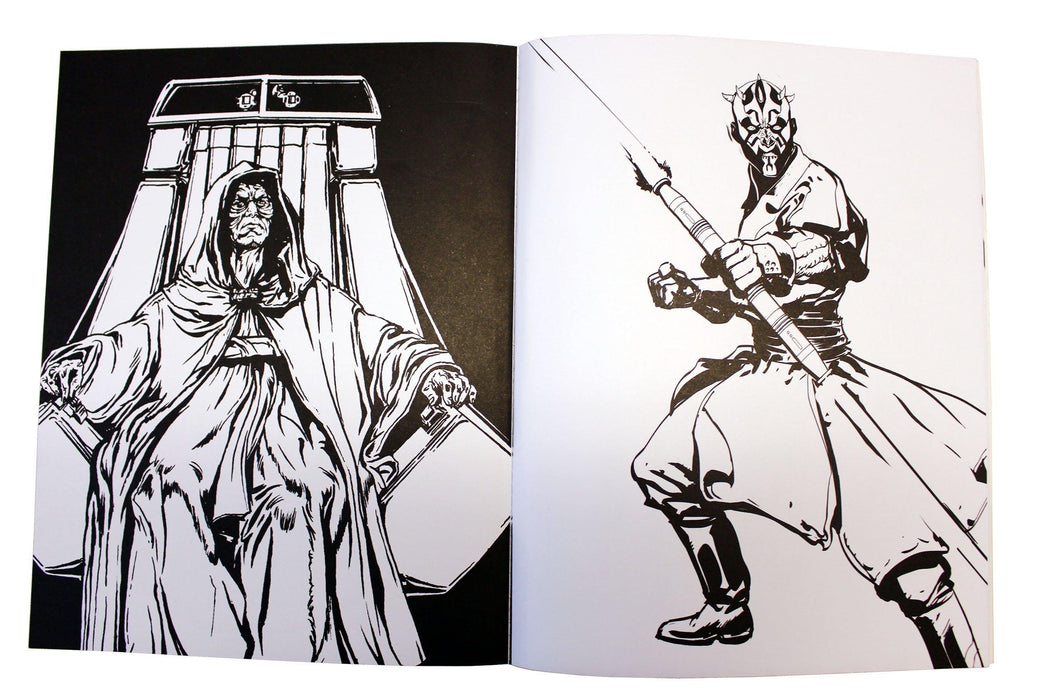 Star Wars 3 Colouring Books in a Tin - Paperback - Egmont Egmont