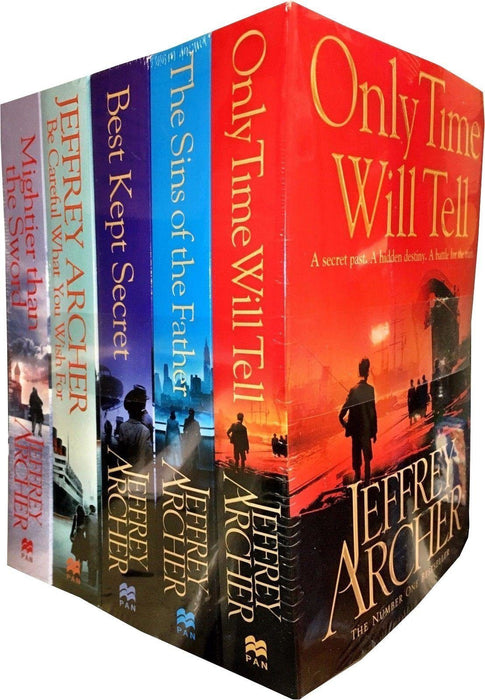 The Clifton Chronicles Series Collection 5 Books Jeffrey Archer - Historical - Paperback - Books2Door