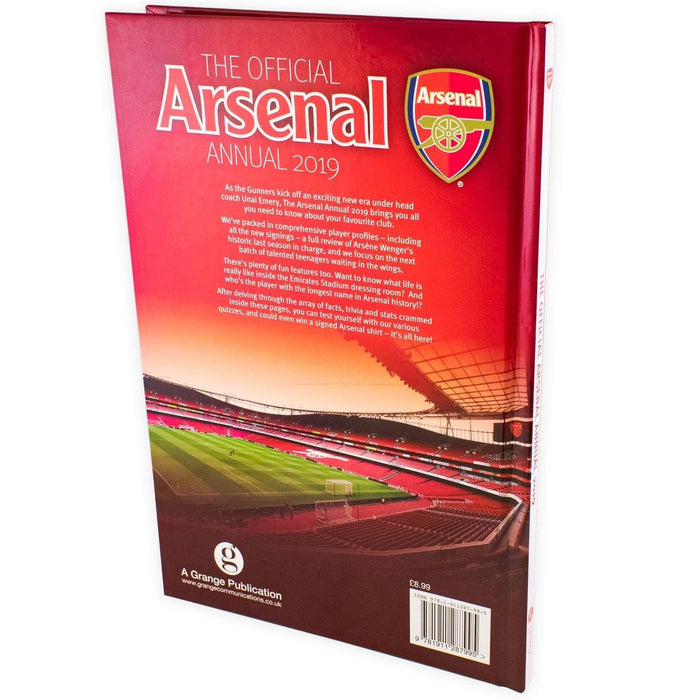 The Official Arsenal FC Annual 2019 - Hardback - Josh James - Books2Door