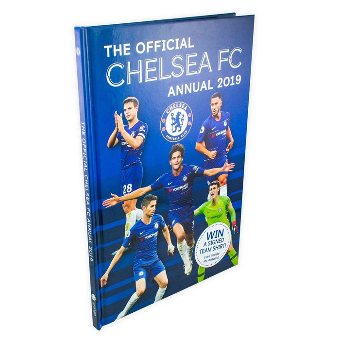 The Official Chelsea FC Annual 2019 - Hardback - Books2Door
