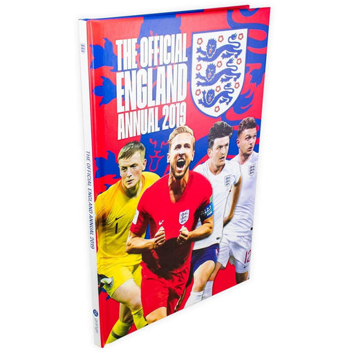 The Official England Annual 2019 - Hardback - Books2Door