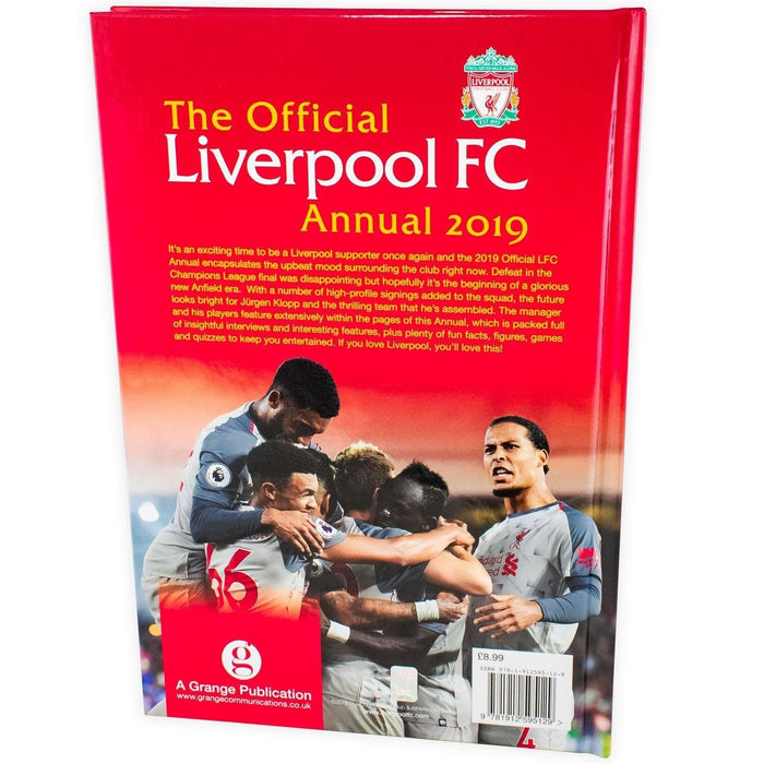 The Official Liverpool FC Annual 2019 - Books2Door