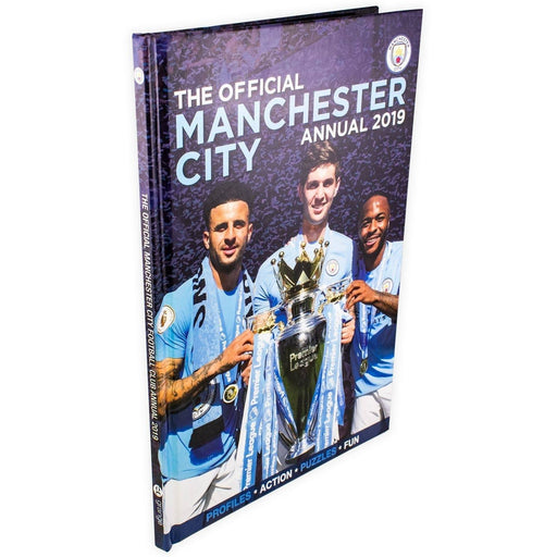 The Official Manchester City FC 2019 Annual - Hardback - Books2Door