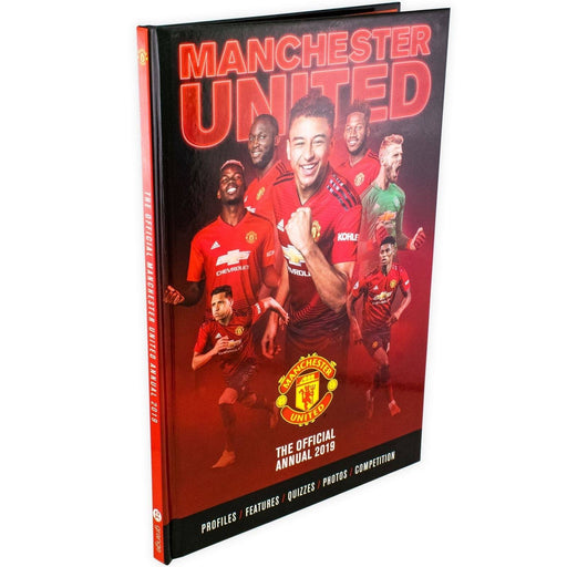 The Official Manchester United Annual 2019 - Hardback - Grange - Books2Door