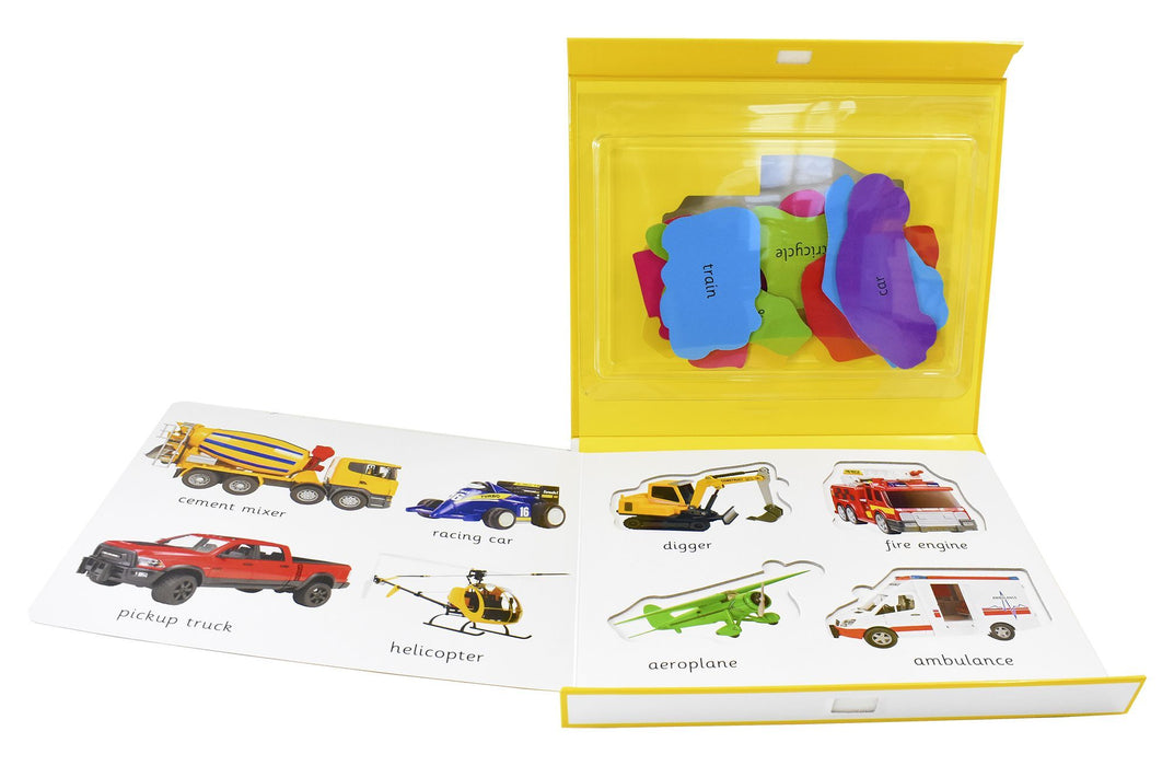 Things That Go First Learning Play Set - Ages 0-5 - Board Book - Priddy Books 0-5 Priddy Books