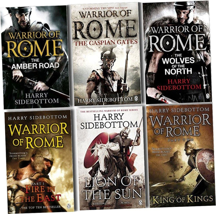 Warrior of Rome Series 6 Books Collection Set - Paperback - Harry Sidebottom - Books2Door