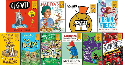World Book day 2018 - 10 Books Collection - Books2Door
