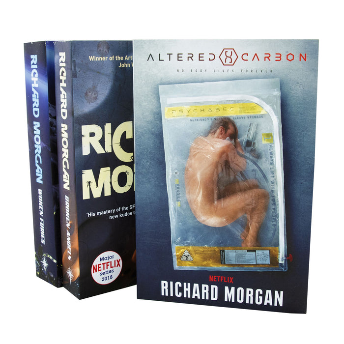 Young Adult - Altered Carbon Netflix Collection 3 Books Set - Fiction - Paperback By Richard Morgan