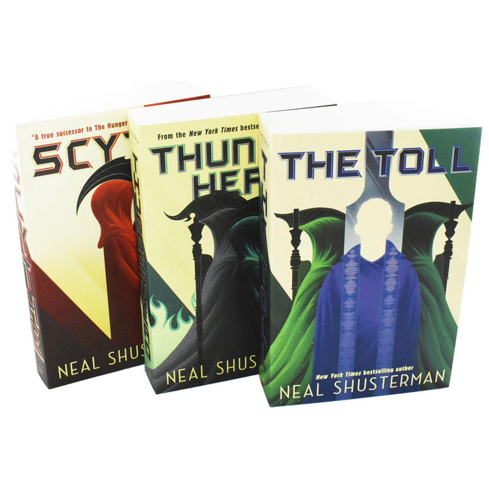 Arc Of A Scythe 3 Books Collection Box Set - Young Adult - Paperback - Neal Shusterman - Books2Door