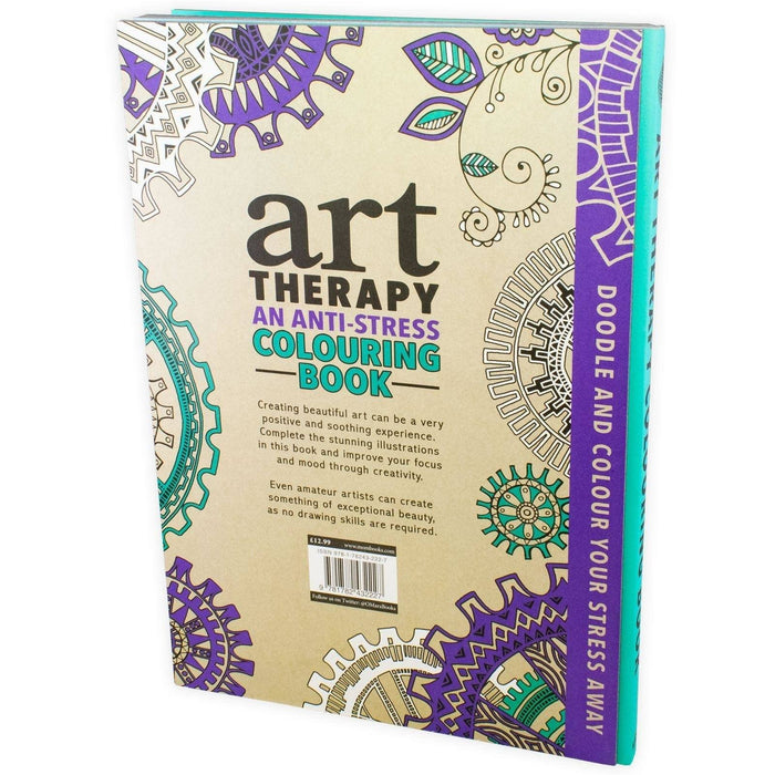 Art Therapy An Anti-Stress Colouring Book (Hardback) - Books2Door