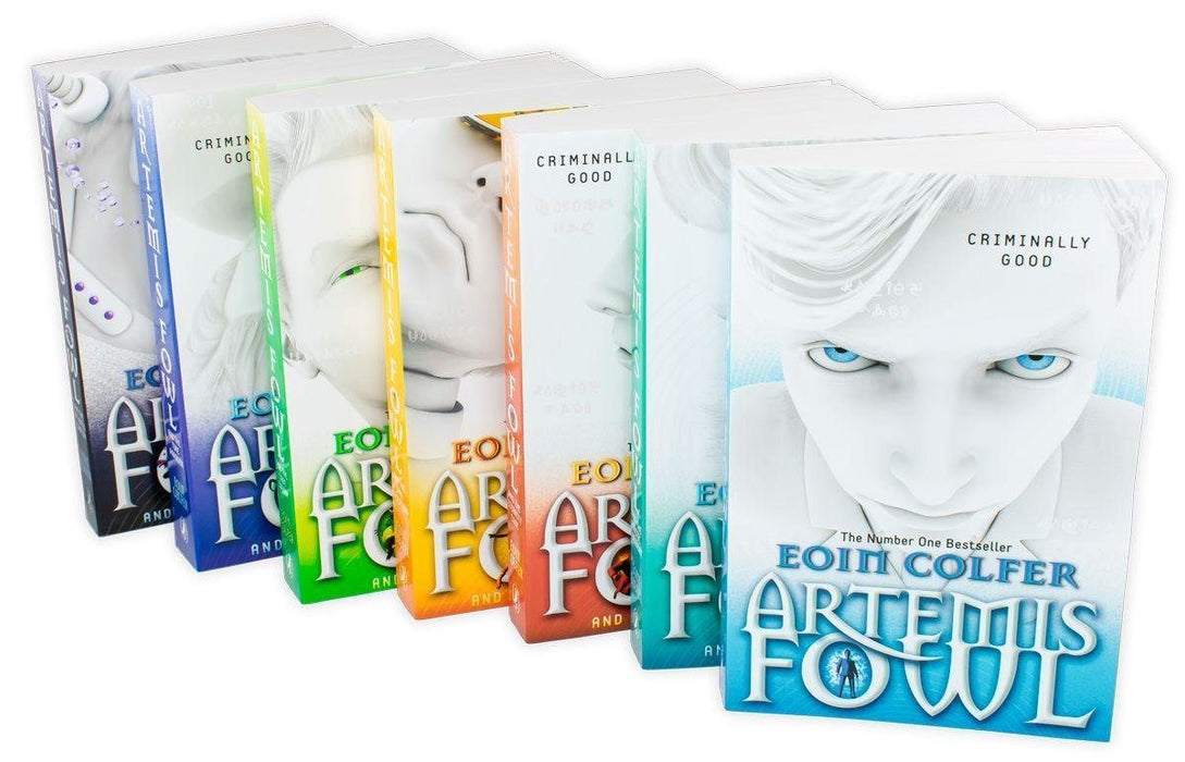 Artemis Fowl Collection 7 Books Set - Young Adult - Paperback -  Eoin Colfer - Books2Door