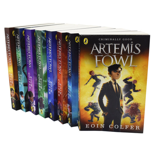 Young Adult - Artemis Fowl Collection Eoin Colfer 8 Books - Paperback - Young Adult