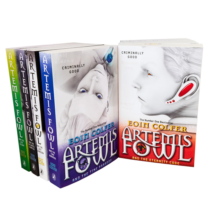 Artemis Fowl Collection Eoin Colfer 8 Books Set Last Guardian, Opal Deception - Young Adult - Paperback - Books2Door