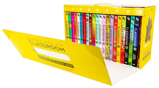 Assassination Classroom Complete Box Set: Includes volumes 1-21 - Young Adult - Paperback - Yusei Matsui Young Adult Viz Media
