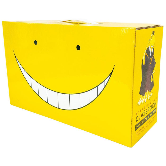 Assassination Classroom Complete Box Set: Includes volumes 1-21 - Young Adult - Paperback - Yusei Matsui - Books2Door
