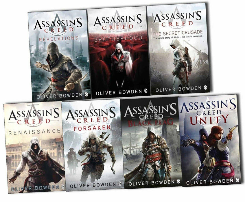 Assassins Creed 7 Books Collection Pack Set - Young Adult - Paperback - Oliver Bowden - Books2Door