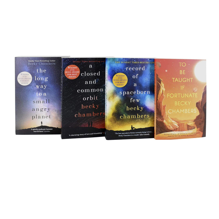 Young Adult - Becky Chambers 4 Books Set - Wayfarers Series - Paperback - Hodder Stoughton