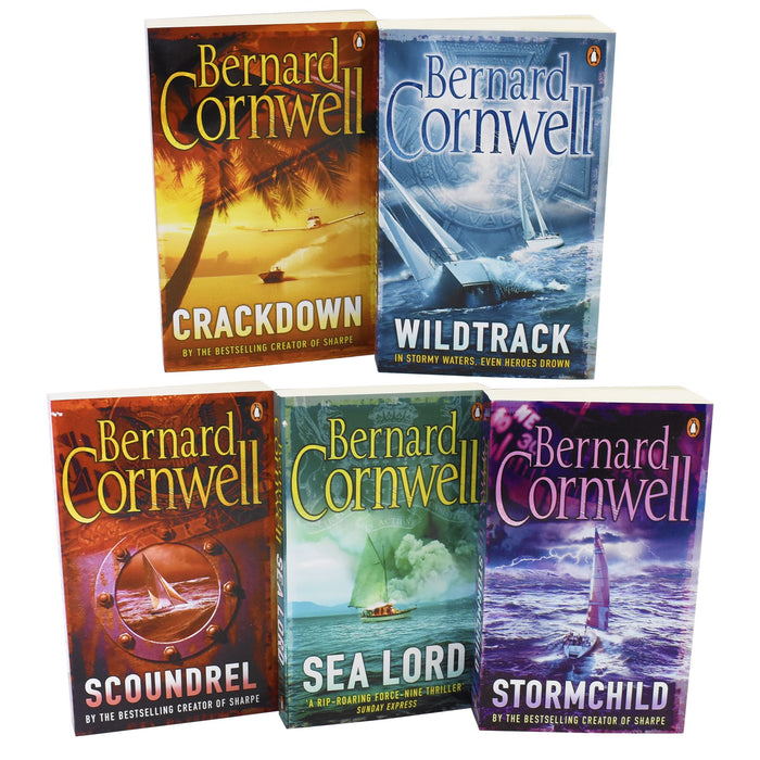 Young Adult - Bernard Cornwell Sailing Thrillers 5 Books - Fiction - Paperback