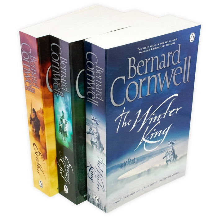 Bernard Cornwell The Warlord Chronicles 3 Book Collection - Books2Door