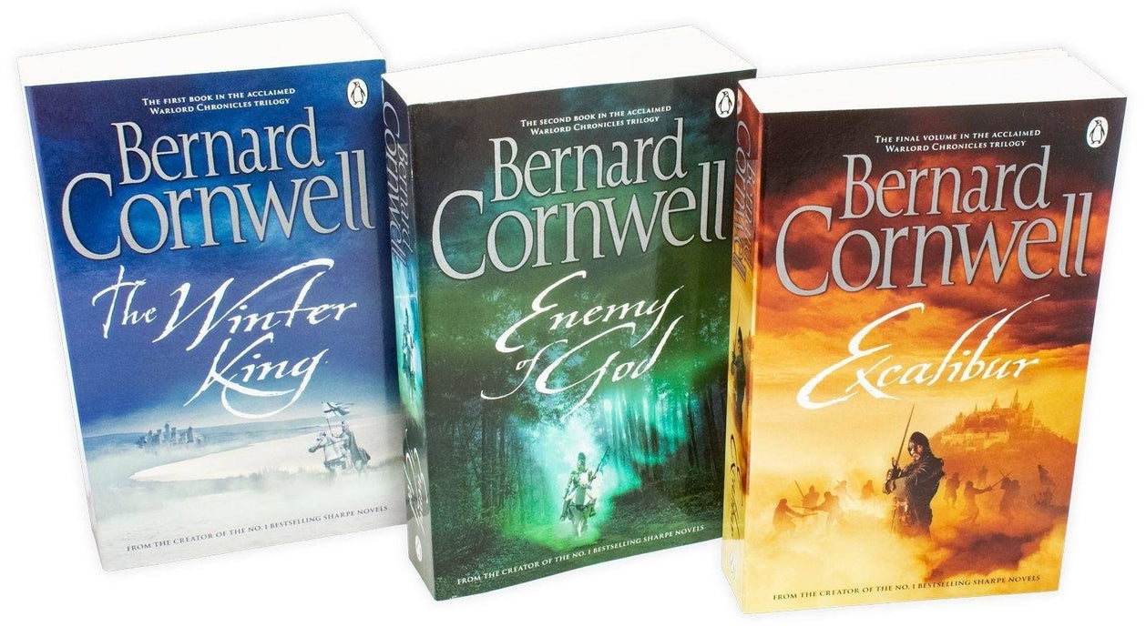 Bernard Cornwell The Warlord Chronicles 3 Book Collection — Books2Door