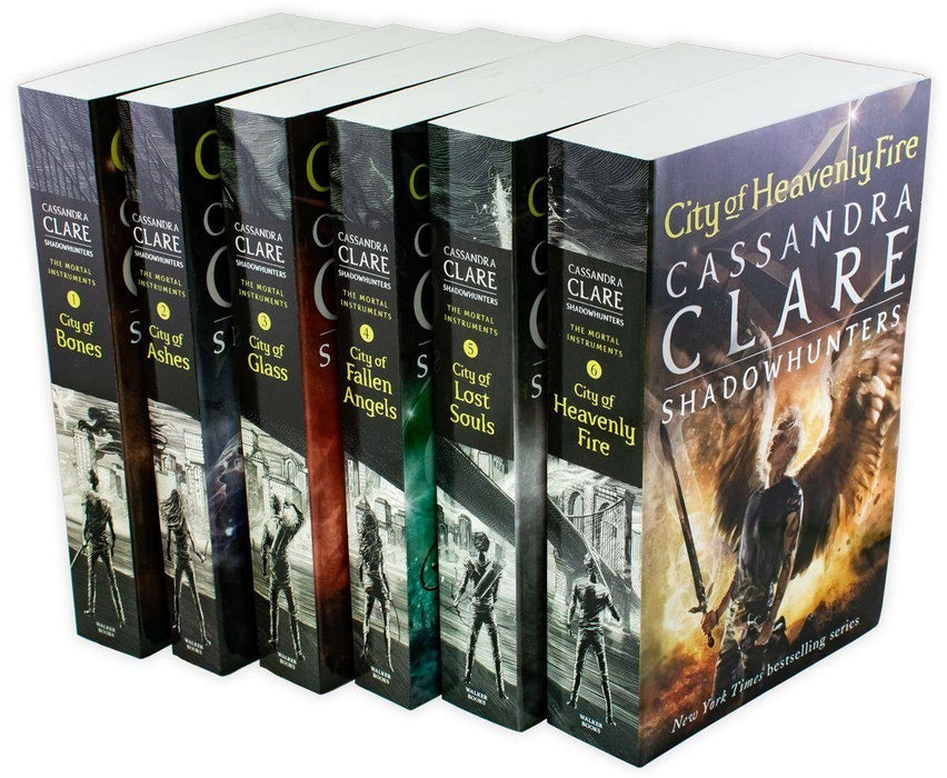 Cassandra Clare Set 6 Books Collection Mortal Instruments Series Brand NEW Cover - Young Adult - Paperback - Books2Door
