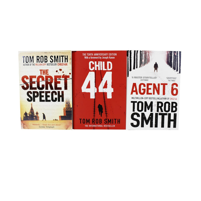 Child 44 Trilogy Series - Young Adult - Paperback - Tom Rob Smith - Books2Door