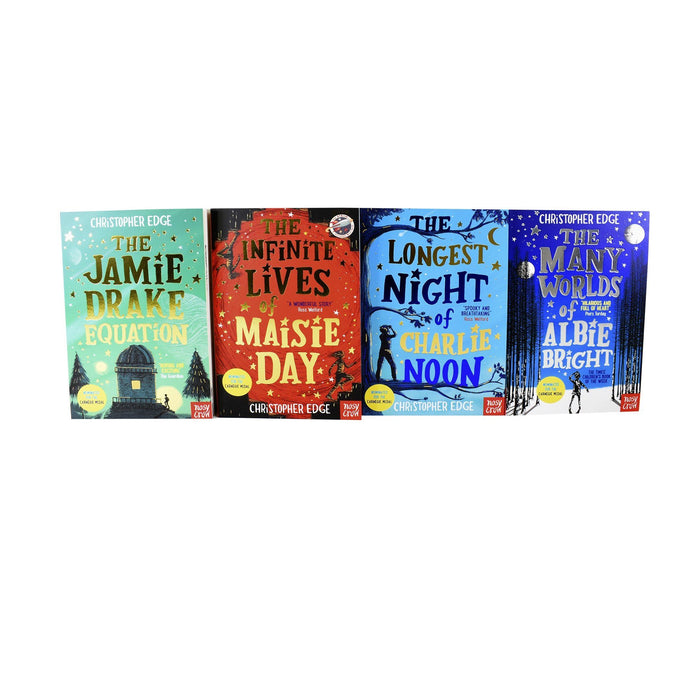 Young Adult - Christopher Edge 4 Books- Maisie/Jamie/Albie/Charlie - Young Adult - Collection Pack Paperback Set