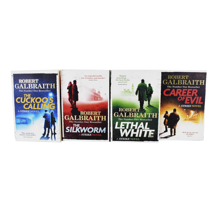 Young Adult - Cormoran Strike Series Collection 4 Books - Adult - Paperback - Robert Galbraith