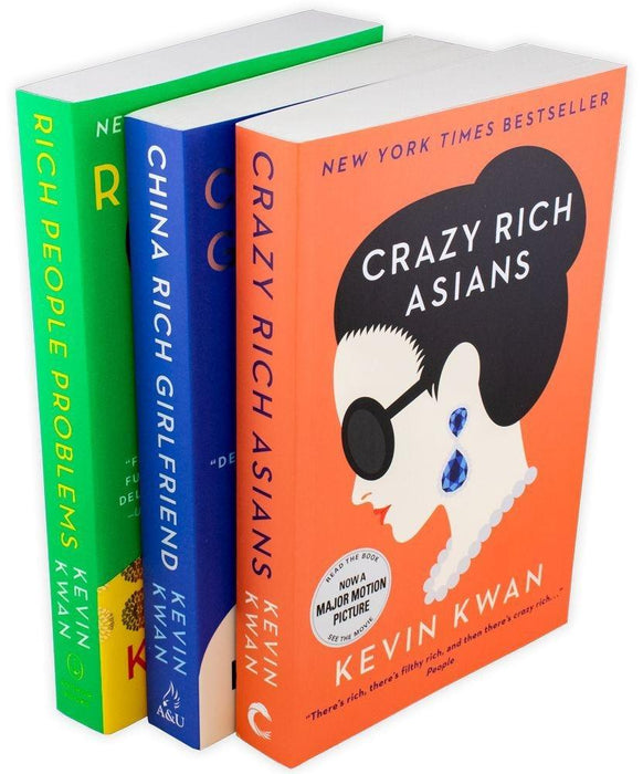 Crazy Rich Asians Trilogy Collection 3 Books - Young Adult - Paperback - Kevin Kwan - Books2Door