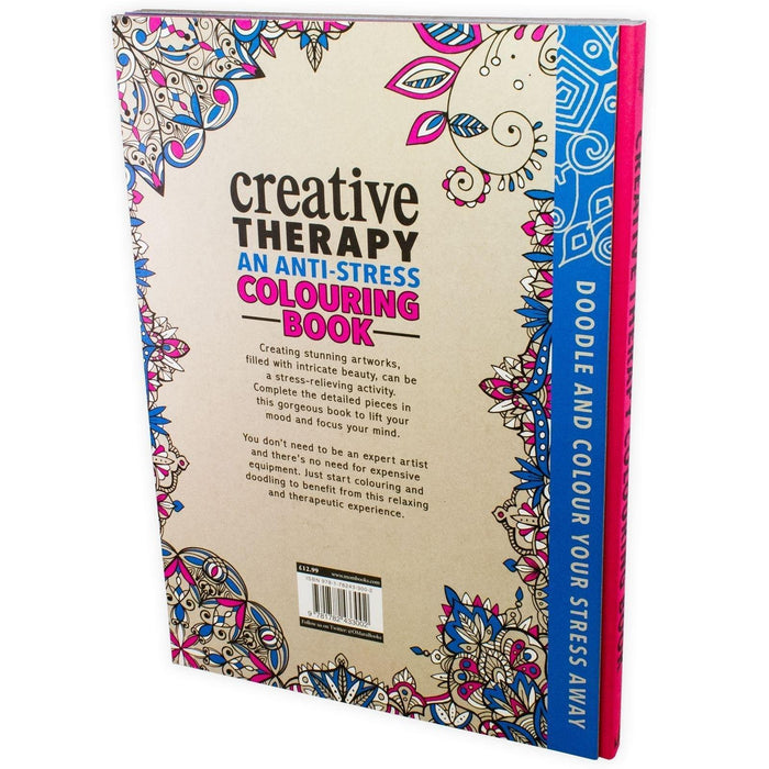 Creative Therapy An Anti-Stress Colouring Book (Hardback) - Books2Door