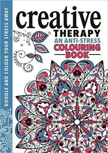 Creative Therapy An Anti-Stress Colouring Book - Paperback - Michael O' Mara - Books2Door