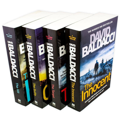 David Baldacci Will Robie Series 4 Book Collection - Young Adult - Paperback - Books2Door
