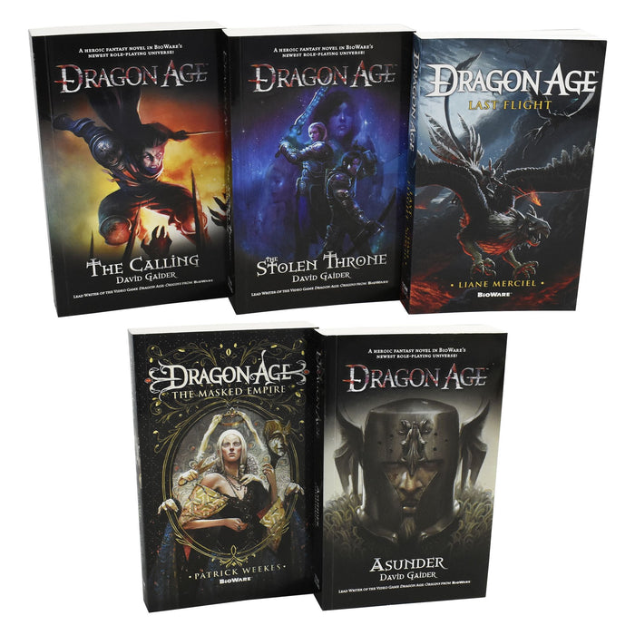 Young Adult - David Gaider Dragon Age Series 5 Books Collection Set - Paperback - Young Adult