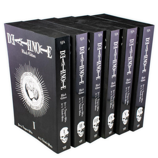 Death Note Black Edition 6 Book Collection - Young Adult - Paperback - Tsugumi Ohba - Books2Door