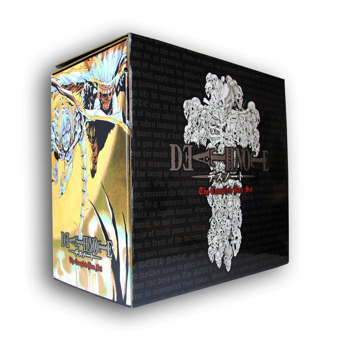 Death Note Box Set 13 Books Volumes 1 - 13 - Manga - Paperback - Tsugumi Ohba, Takeshi Obata - Books2Door