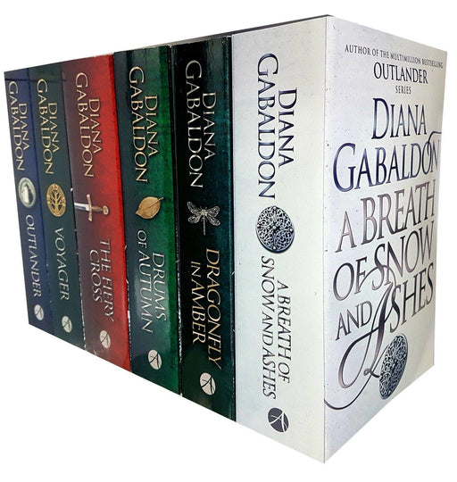 Diana Gabaldon Collection 6 Books Set Outlander Series - Young Adult - Paperback - Books2Door