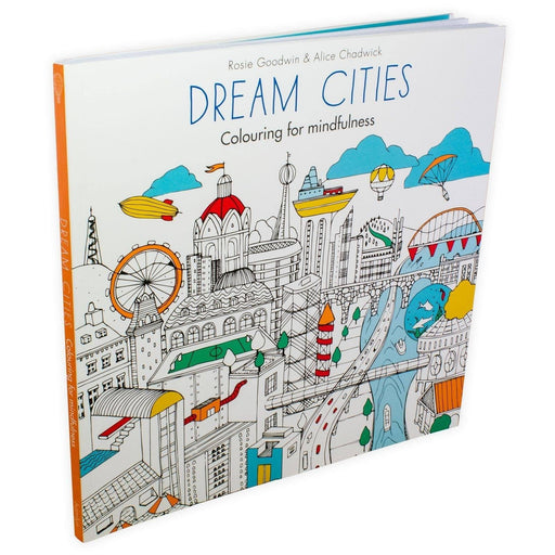 Dream Cities: Colouring for mindfulness - Books2Door