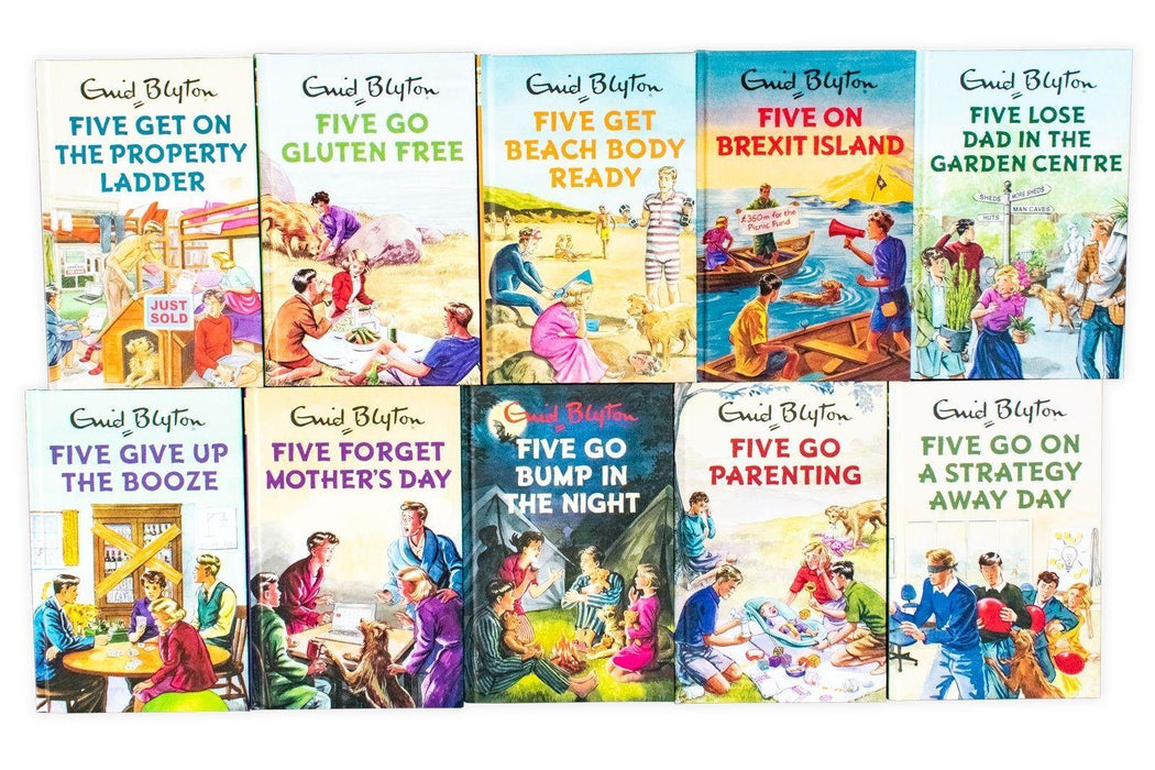 Famous Five for Grown Ups 10 Book Collection - Young Adult - Hardback - Enid Blyton (Bruno Vincent) - Books2Door