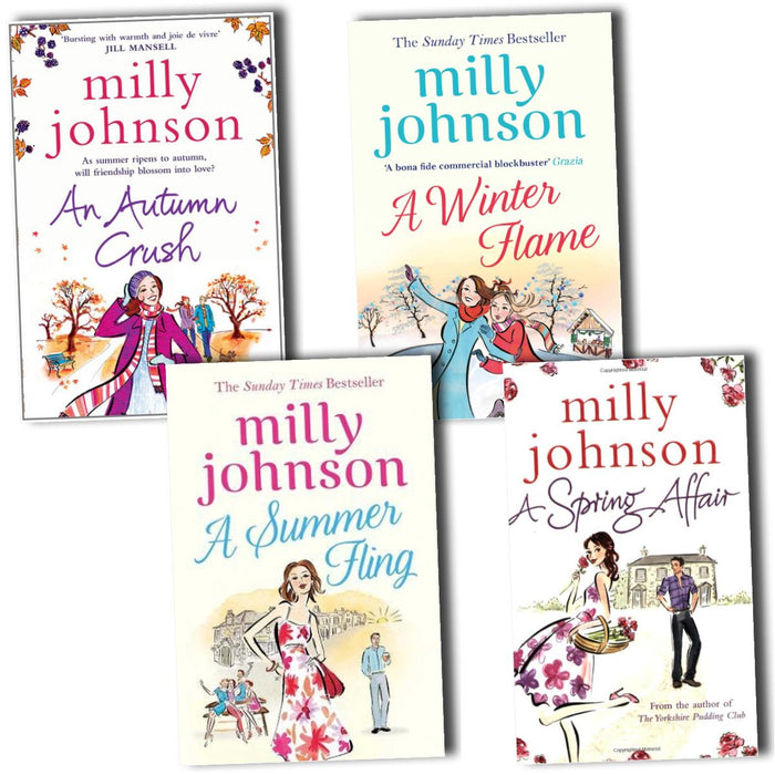 Young Adult - Four Seasons 4 Books Collection Paperback - Fiction - By Milly Johnson
